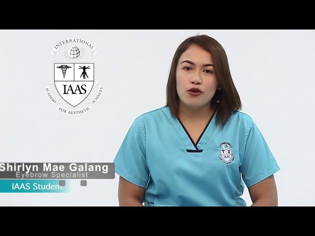 IAAS Philippines Microblading Student