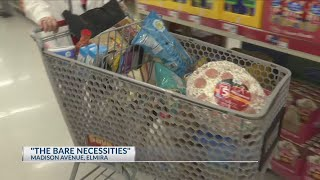 "Winter Storm: Getting those ""bare necessities"" before the storm"