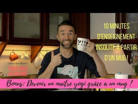 YOGA EN LIGNE : PROGRESSER GRACE A... UN MUG ? [vidéo]