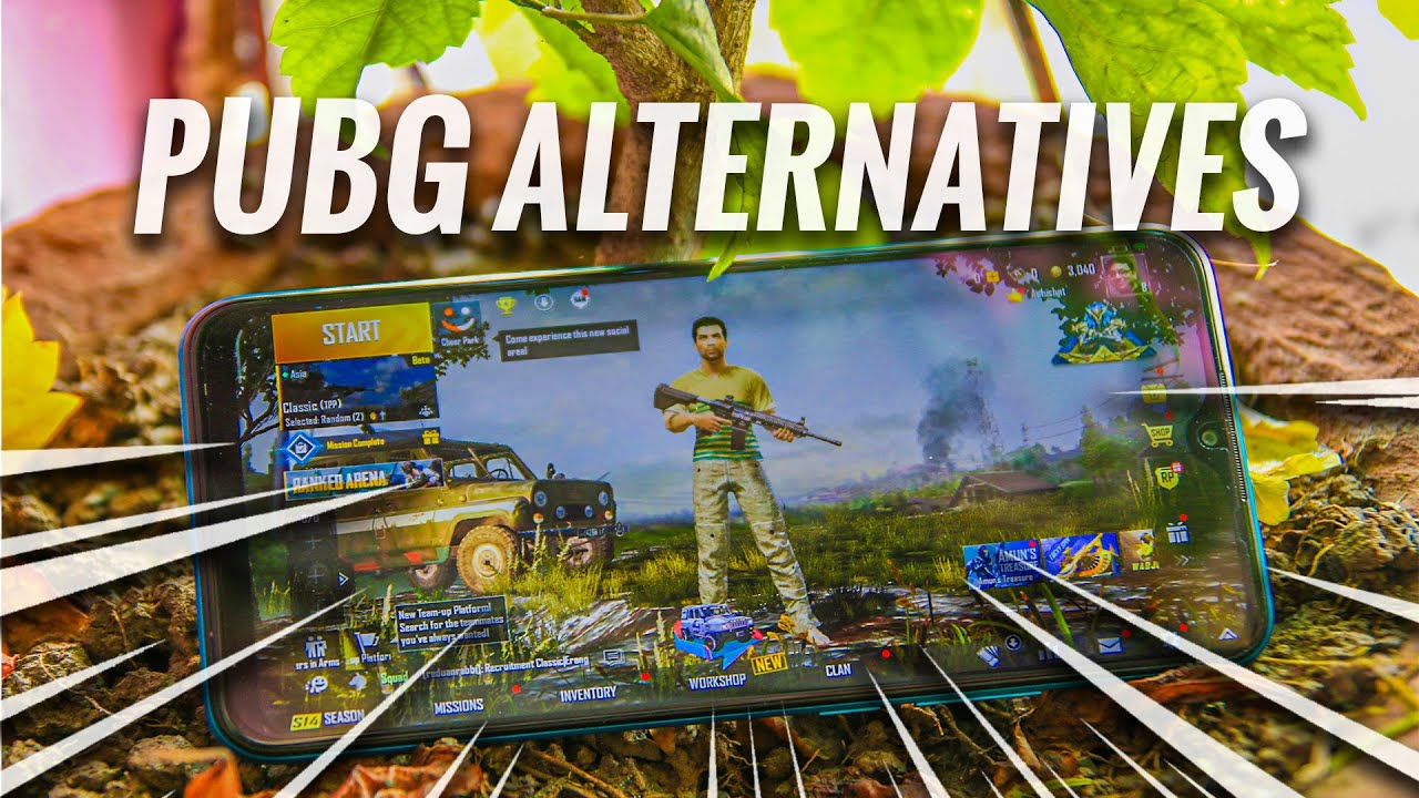 PUBG Banned: Some PUBG Alternative to play in this banned period