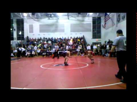 Region 7 quarterfinal: 135 Stackhouse bout