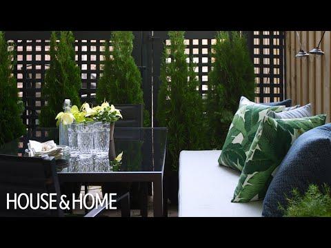Exterior Design – DIY Small Patio Makeover On A Budget