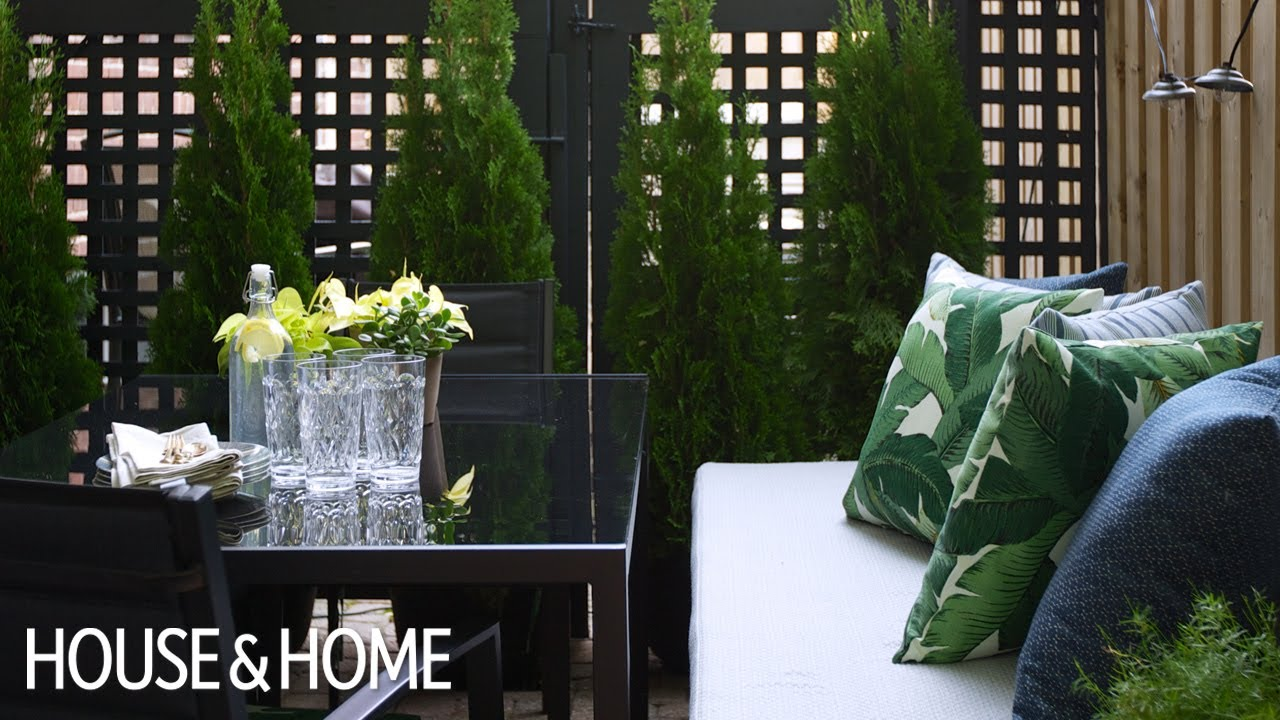 Small Patio Diy Makeover On A Budget Youtube