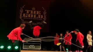 【the Gold 10th Anniversary】pick Up Bubble Dutch  Double Dutch
