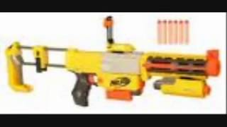 las 9 mejores pistolas nerf(the best 9 nerf gun)