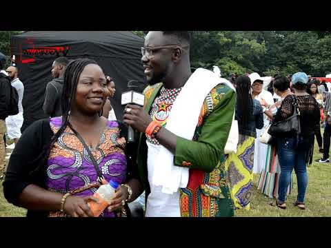 Ghana party in the park UK 2017.