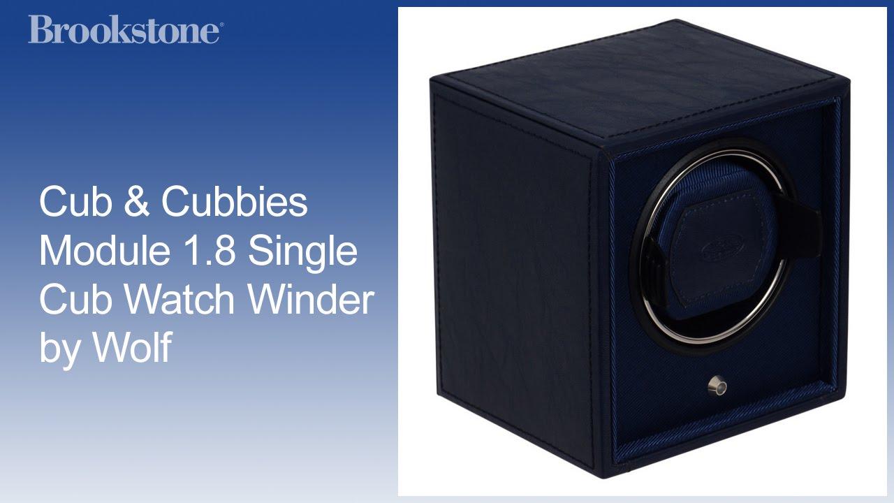 Cub Cubbies Module 1 8 Single Cub Watch Winder By Wolf