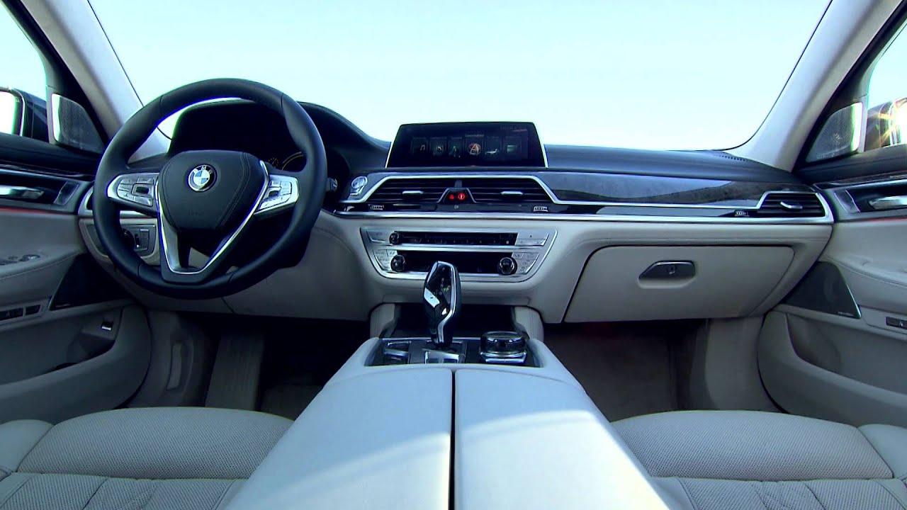 2016 BMW 750Li Interior Footage