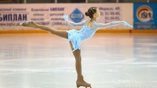 Фигурное катание. Маша Данилова, 9 лет, произвольная программа, II спортивный разряд