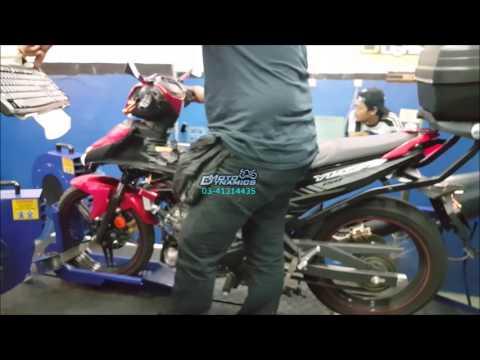 Yamaha Y15ZR (Exciter) - Rextor-R ECU Dyno Tuning - Motodynamics Technology Malaysia