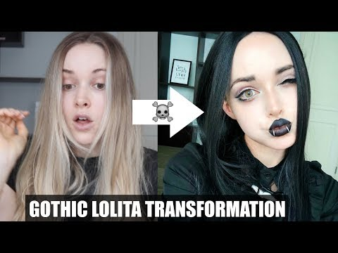 MY GOTHIC LOLITA TRANSFORMATION