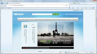 Web Slices in Internet Explorer 8 - Demo