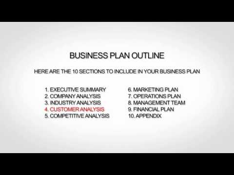 Sample Nonprofit Business Plan YouTube - Example business plan template