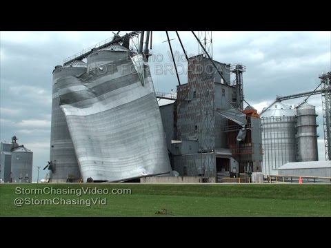Extensive Widespread Damage High Winds Central Iowa - 7/17/2016