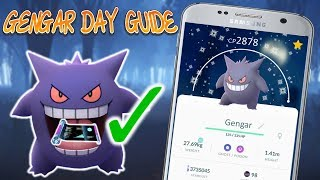 Gengar Day Guide In Pokemon Go! Counters Stats & More