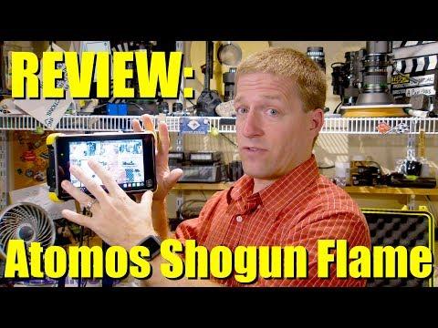 "MY REVIEW: Atomos Shogun Flame, 7"" 4K Monitor/Recorder - video walkaround  & features"