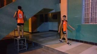 bóng chuyền-hướng dẫn kỹ thuật chạy đà không bóng