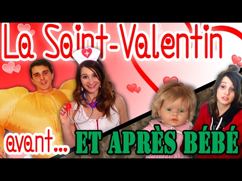 La SAINT-VALENTIN Avant... Et APRÈS BÉBÉ! Angie La Crazy Série