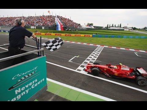 Gp da França 2008 / Vitória de Felipe Massa (com chegada completa)