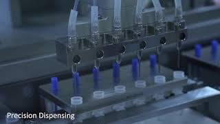 Diagnostic Swab Kit Assembly Machine