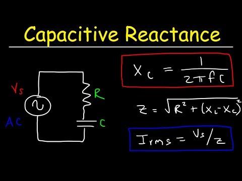 Capacitive Reactance, Impedance, Power Factor, AC Circuits, Physics