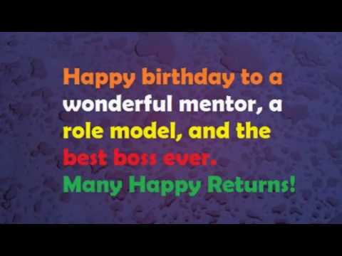 Birthday Wishes To Our Chief Mentor Absm Virugambakkam Youtube