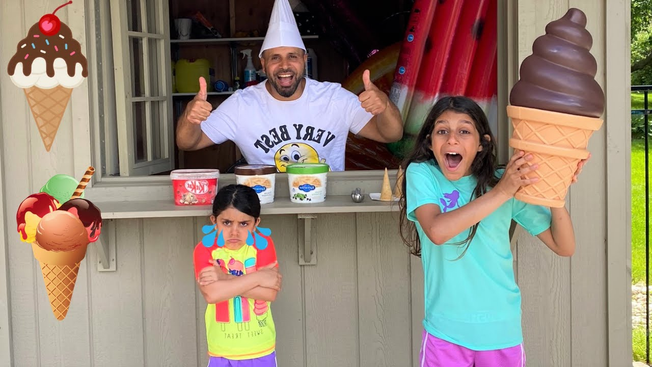 Download Deema and Sally Win a Giant Ice Cream from ice cream store