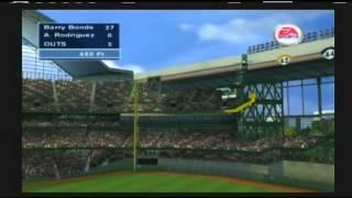 Triple Play 2002 Home Run Derby Alex Rodriguez vs Barry Bonds