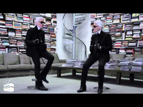 Face to Face: Karl Lagerfeld | NET-A-PORTER.COM