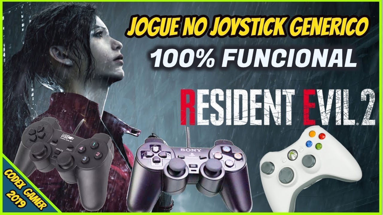 How to Play Resident Evil 2 Remake with Generic Joystick