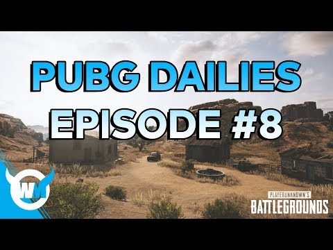 PUBG Dailies Episode #8 1800 Rating Solo Gameplay Review - How to Get Better at Battlegrounds!