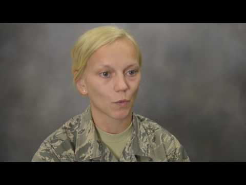 Interview with Airman - Staff Sgt. Kelsey Janckila