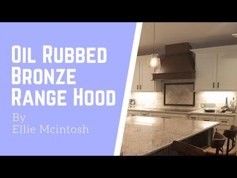 Oil Rubbed Bronze Range Hood