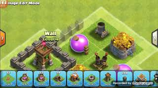 COC TH 4 Hybrid Defense Base!