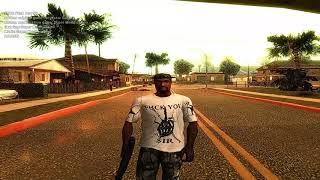 CJ Shirt Fuck You Sir for GTA San reas by Super Modification