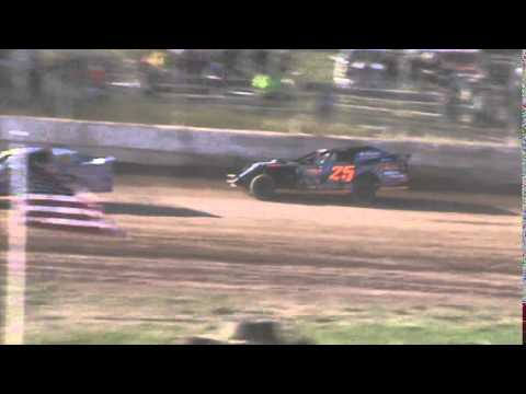 IMCA Sportmod Heat 1 Seymour Speedway 6/21/15