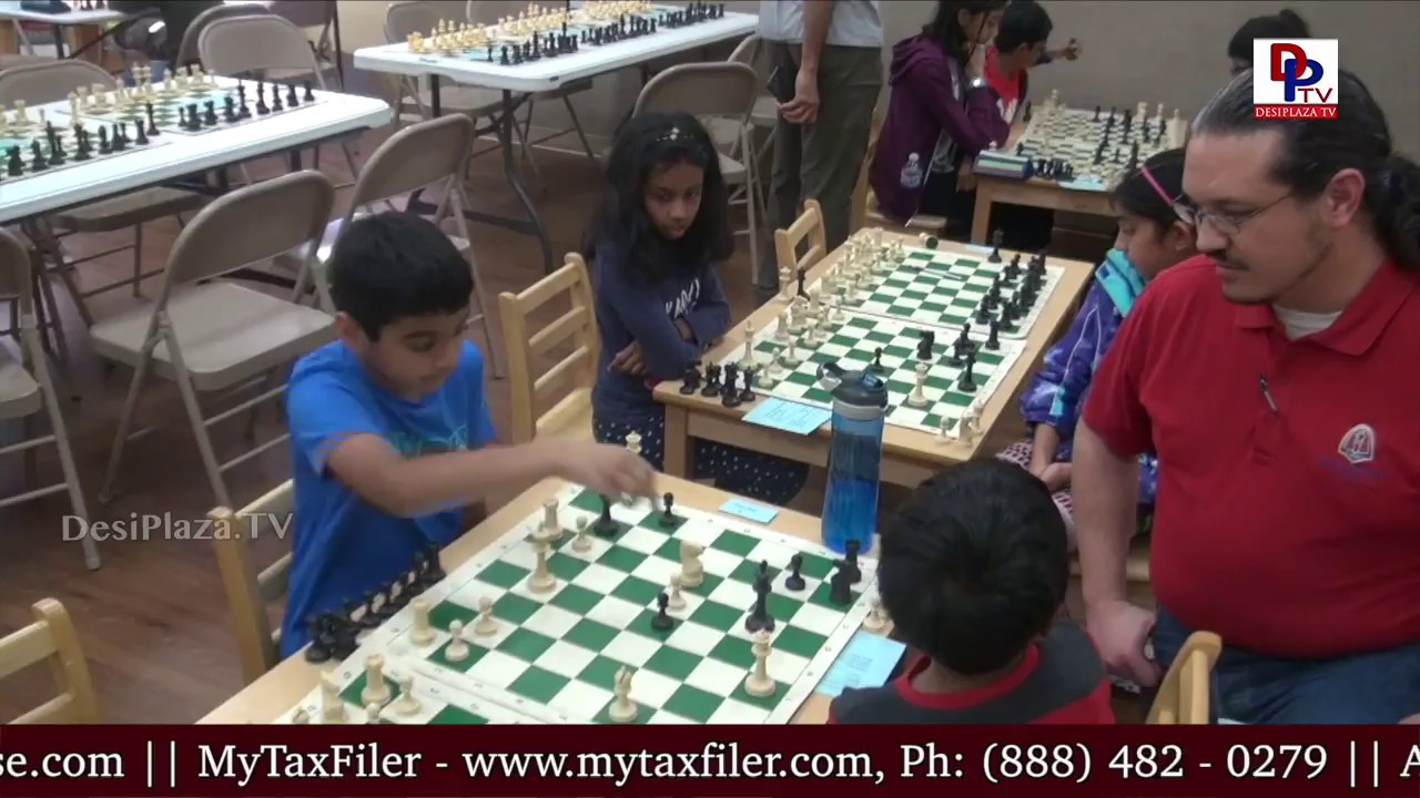 Visuals and Organisers Media Bytes from TANA Youth Chess Competitions in Irving,TX || DesiplazaTV