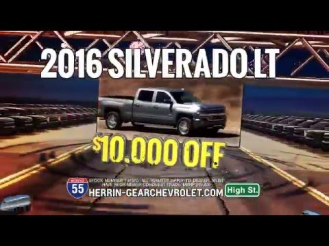 herrin gear chevrolet january 2016 specials - youtube