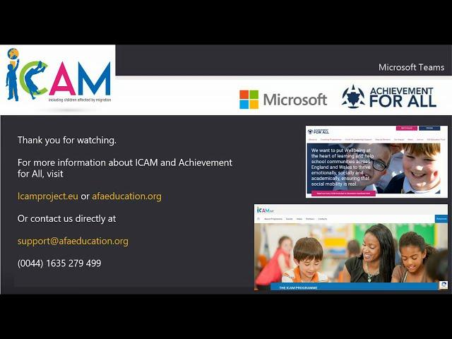 ICAM Microsoft Translator