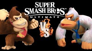 SSBU Donkey Kong VS Super Kong