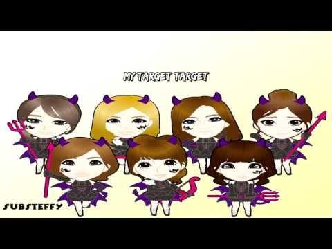 T-ara - Target Karaoke instrumental + Lyrics