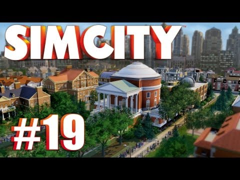 Let's Play SimCity (2013) - Ep. 19: TRADE HQ & CARGO SHIP PORT