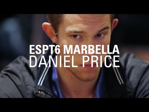 ESPT6 Marbella: Interview with Daniel Price | PokerStars.es