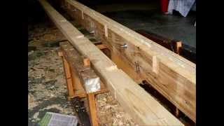 How To Make 5 M Timber Beam For Storage Shelf.