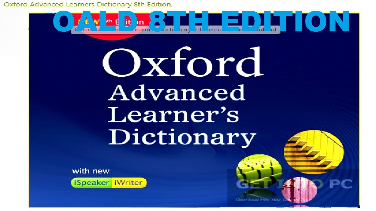 Oxford advanced learner's dictionary, 8th edition download.