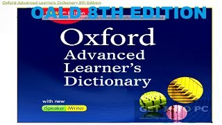 free download oxford advanced learner dictionary