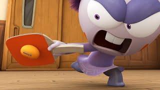Spookiz | Concurso de ping pong | Dibujos animados para niños | WildBrain