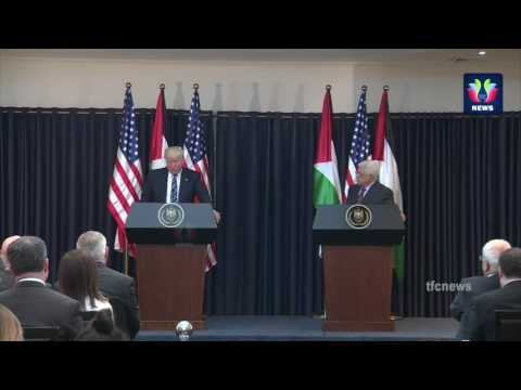 President Trump Gives Remarks with Palestine President Abbas | The White House | TFC News