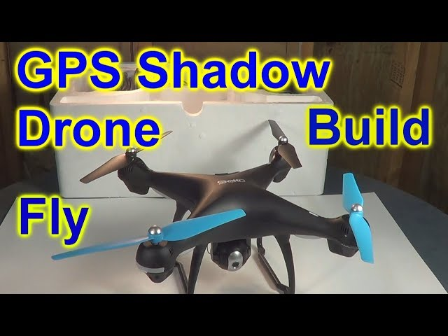 Promark GPS Shadow Drone UnBox And 1st Flight