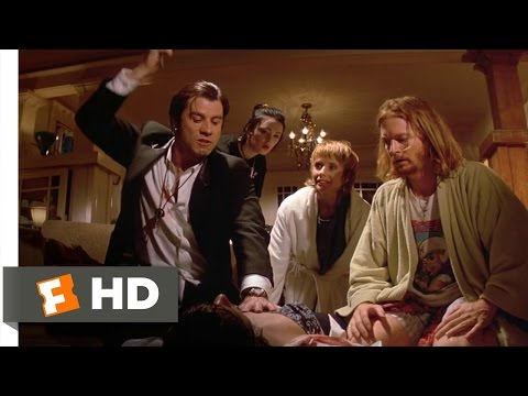 A Shot of Adrenaline - Pulp Fiction (6/12) Movie CLIP (1994) HD